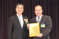 Prof. Tony W. K. Fung & Dr. Yue-Qing Hu has won the 2009 Research Output Prize from HKU
