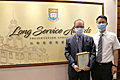 Warmest congratulations to our staff member Professor Wing Kam Fung on receiving the 35 years' Long Service Award this year.