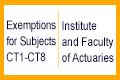 HKU BSc(Actuarial Science) programme has earned reaccreditation for subjects CT1-CT8 of the UK Institute and Faculty of Actuaries (IFoA) for another period of 5 years beginning 2017.