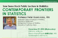 Saw Swee Hock Public Lecture in Statistics by Prof. Peter Gavin HALL on Wed, Dec 29, 2010.