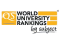 QS World University Rankings by Subject 2016.